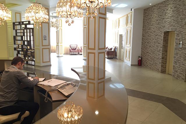 Hotel Kosovrast Reception